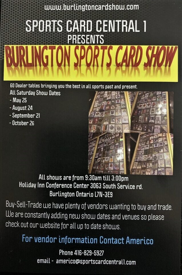 Toronto Sun Classifieds Events Sports Card Show August 24 2019