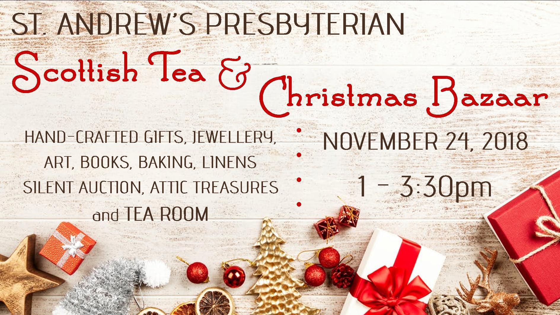 Ottawa Sun | Classifieds | Events | Scottish Tea & Christmas Bazaar ...